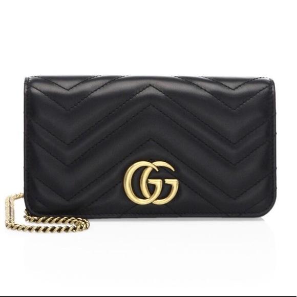 Gucci Handbags - Gucci Marmont 2.0 Leather Shoulder Bag